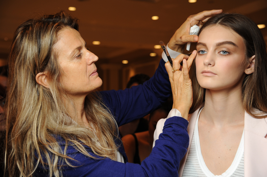 Backstage with Nars at New York Fashion Week Spring 2012