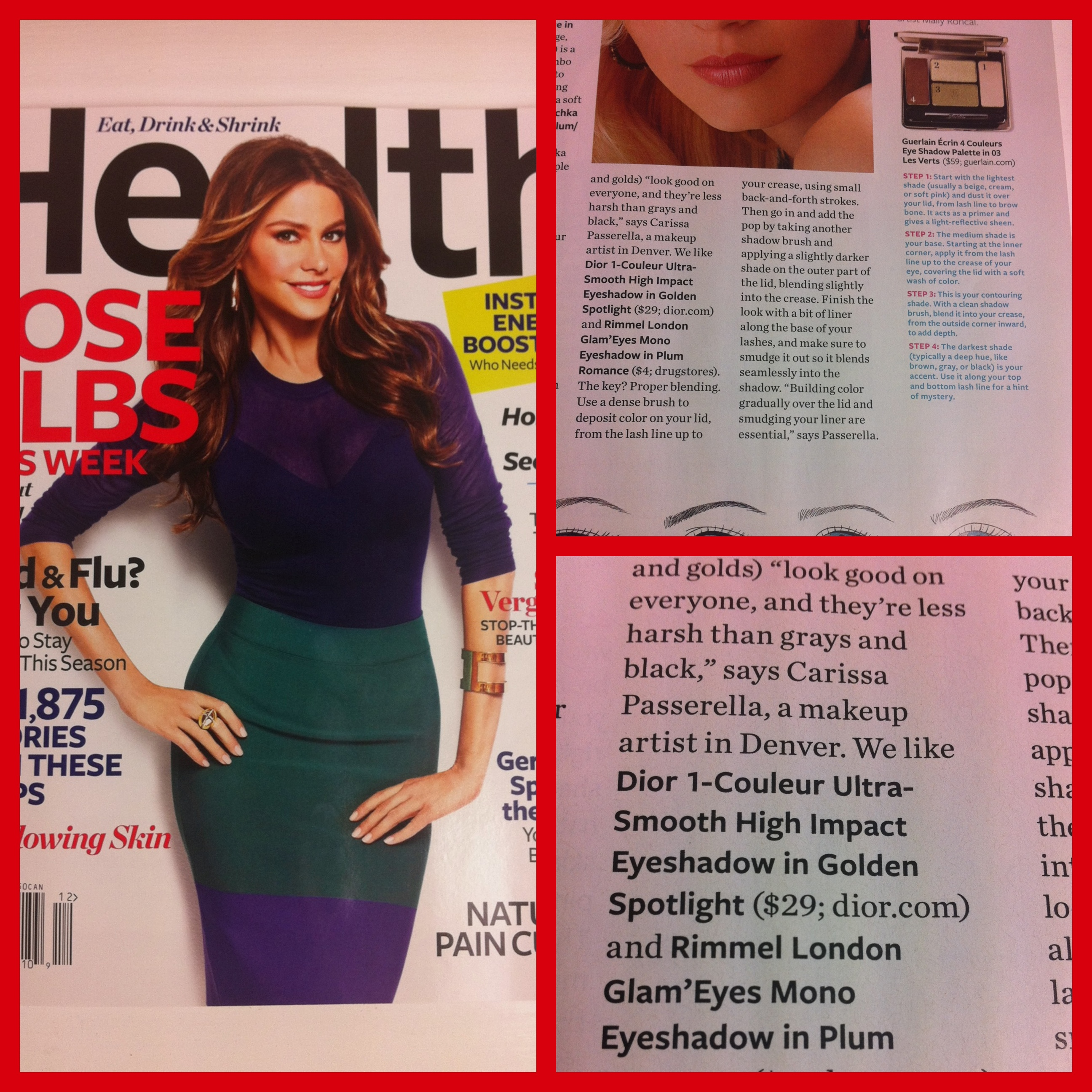 I'm in December's Health Magazine!
