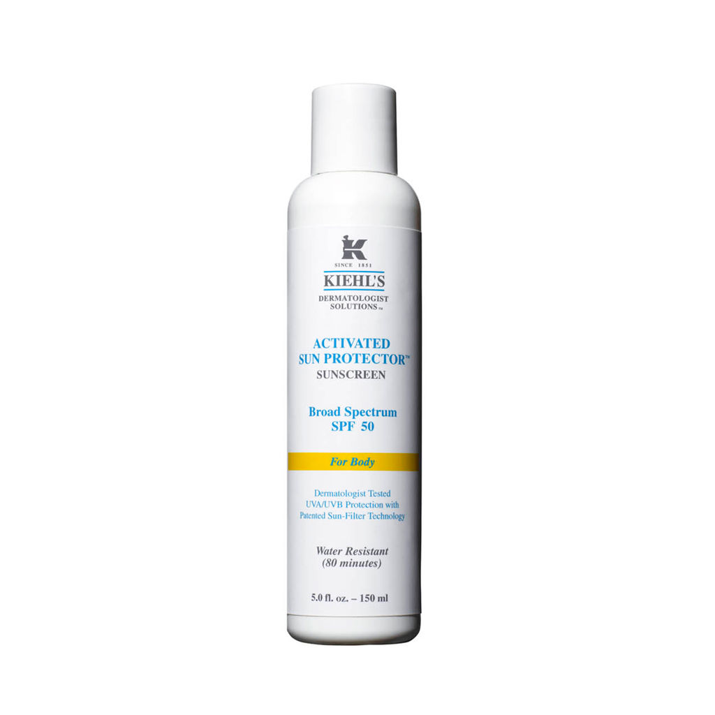 Kiehl's Activated Sun Protector Sunscreen for Body SPF 50