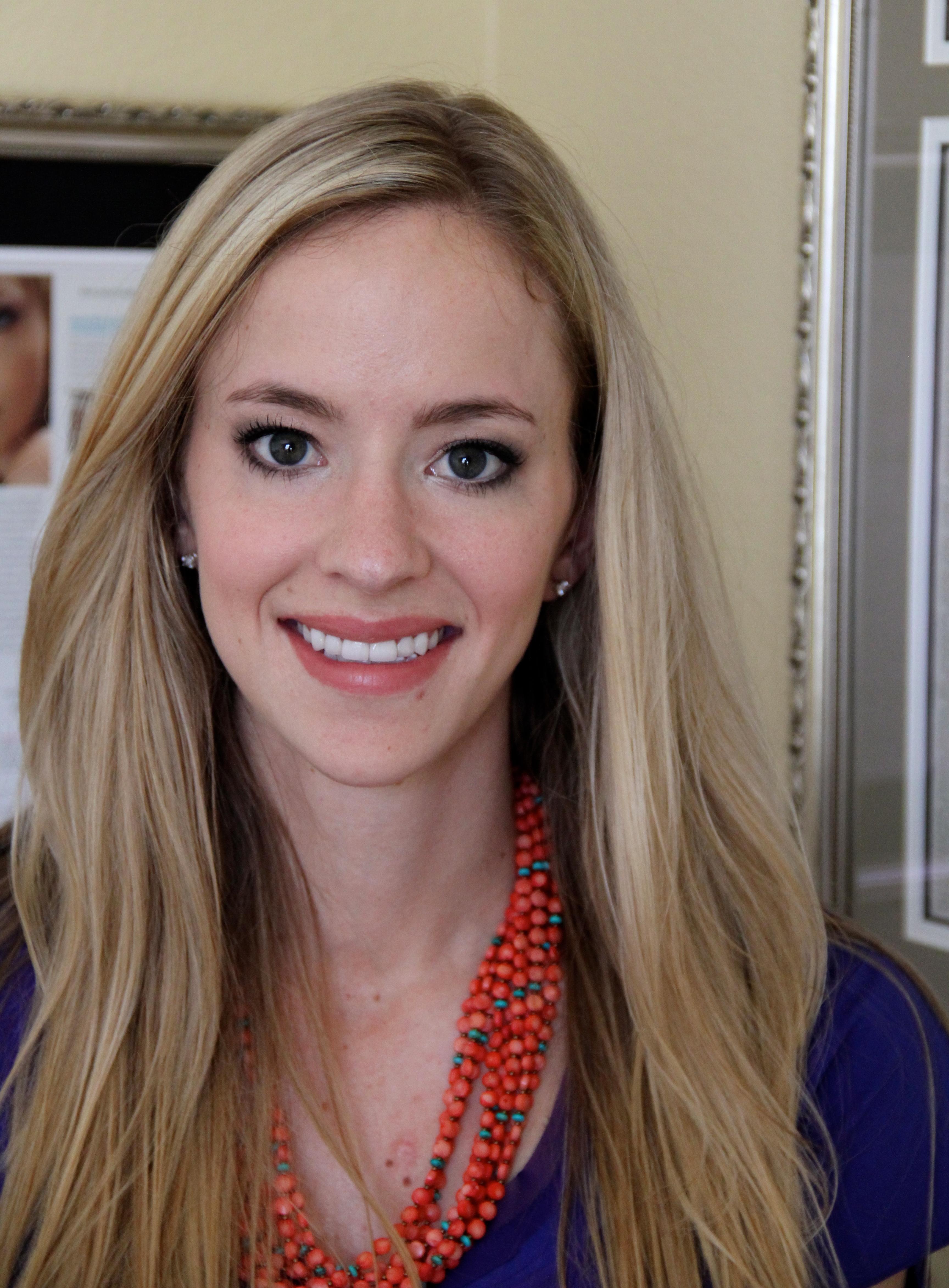 Makeup Before and After: Elizabeth Arden Meets The Girl Next Door