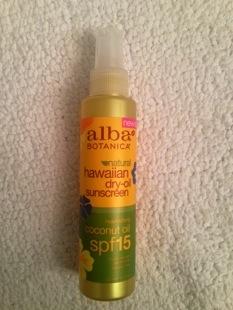 Dry Oil with SPF 15 from Alba
