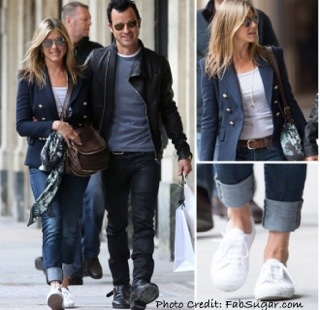 Get Jennifer Aniston's White Sneakers