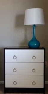 IKEA Rast Hack for a 2 Toned Contemporary Looking Nightstand