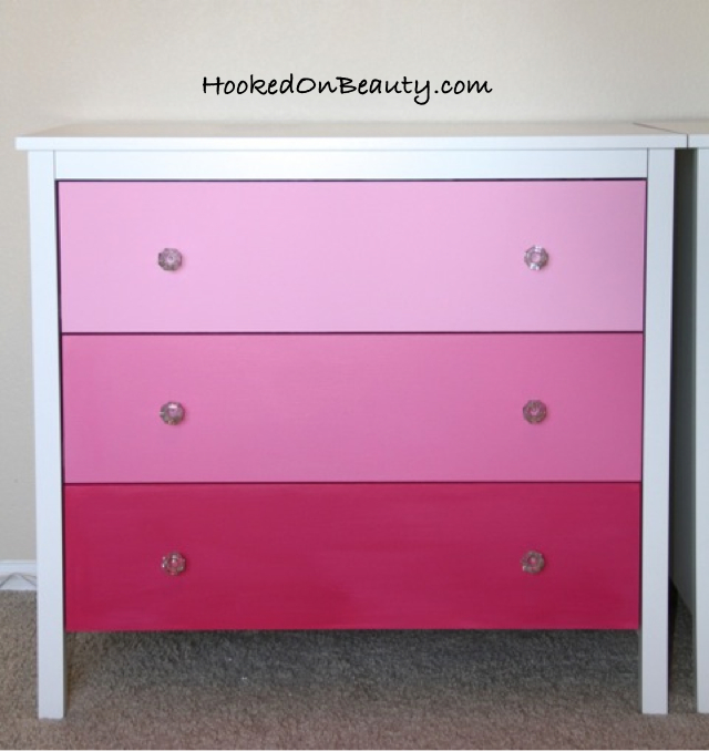 Another DIY: How to Ombré A Dresser