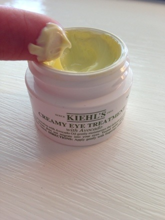What to Use For Crow's Feet and Dry Eyes; Kiehl's Creamy Eye Treatment