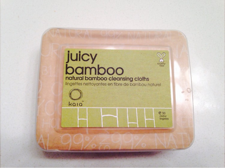 Cleansing Cloths That Actually Work: Kaia Naturals Juicy Bamboo