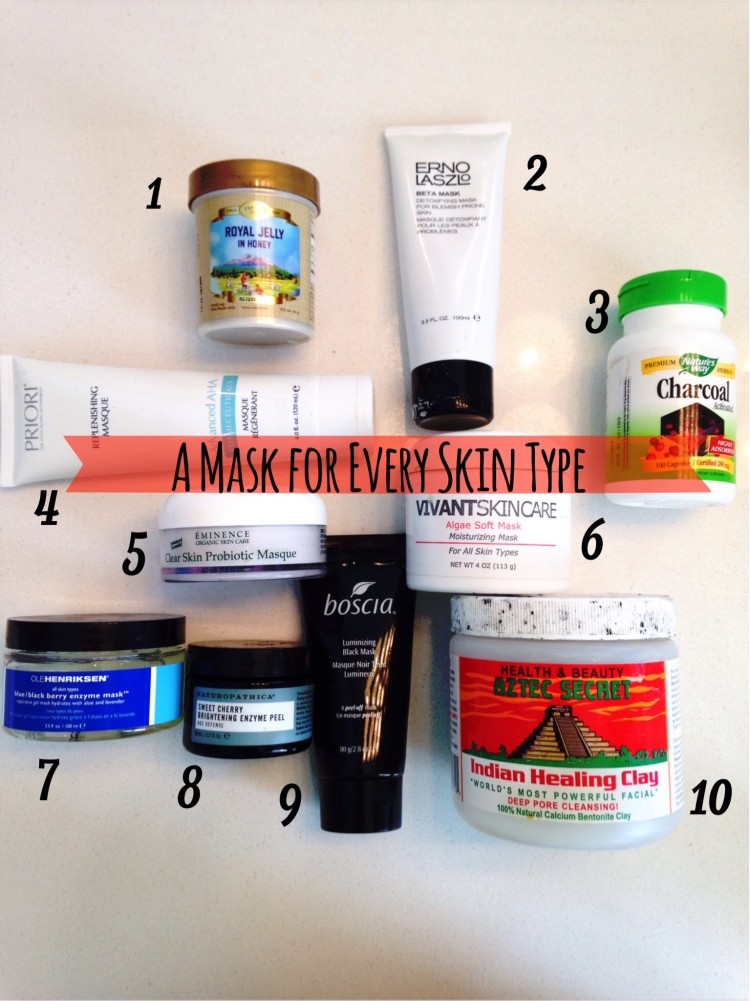 10 Must Have Face Masks