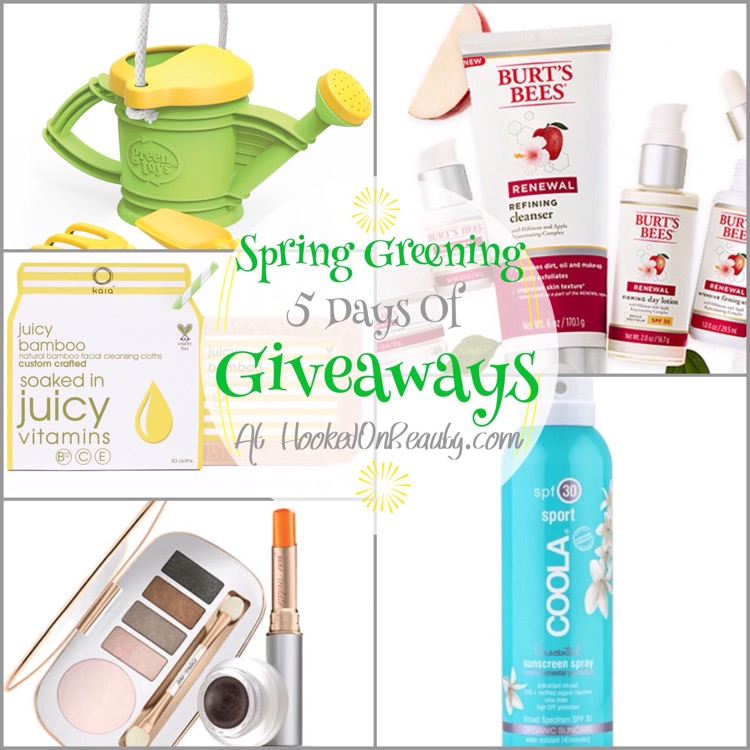 Spring Greening 5 Days of Giveaways Starts Tomorrow!