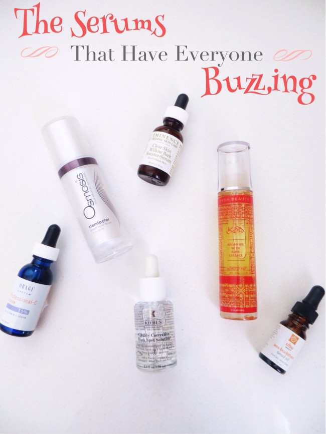 The Serums That Have Everyone Buzzing