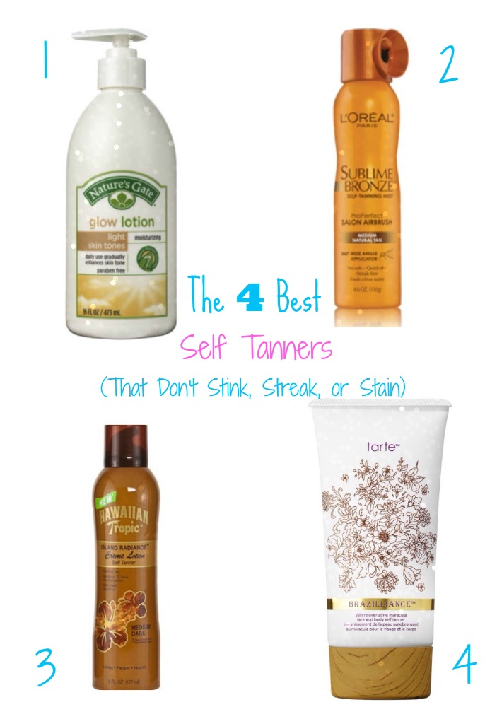 The 4 Best Self Tanners (That Don't Stink, Streak, or Stain)