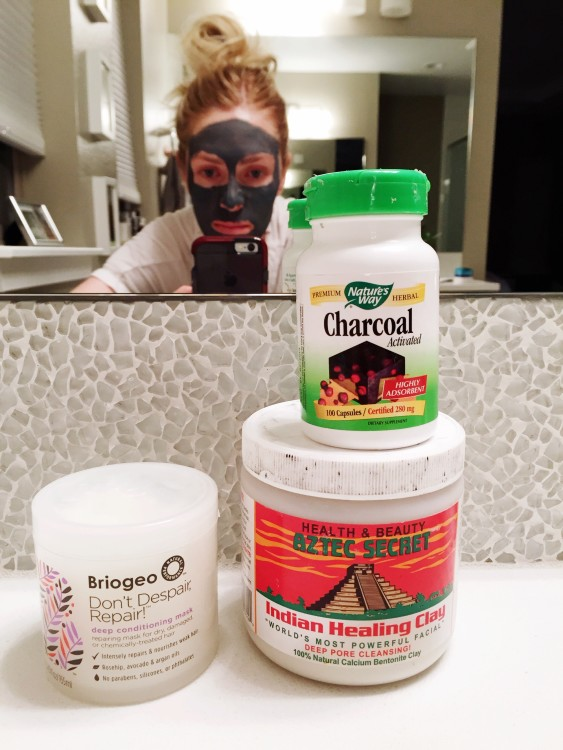 My Favorite Weekly Mask Combo for Skin and Hair