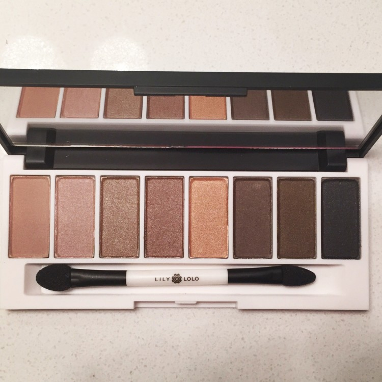 Lily Lolo Laid Bare Mineral Eye Shadow Palette