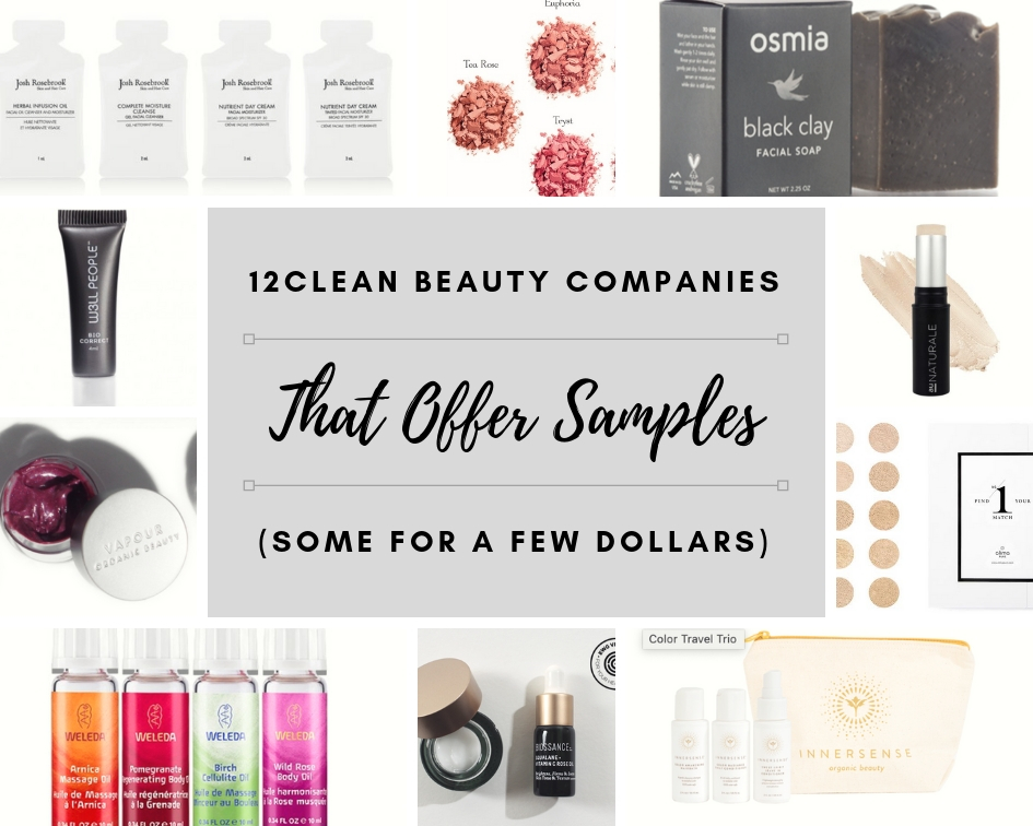 12 Clean Beauty Lines That Offer Samples (Some for Just $1!)