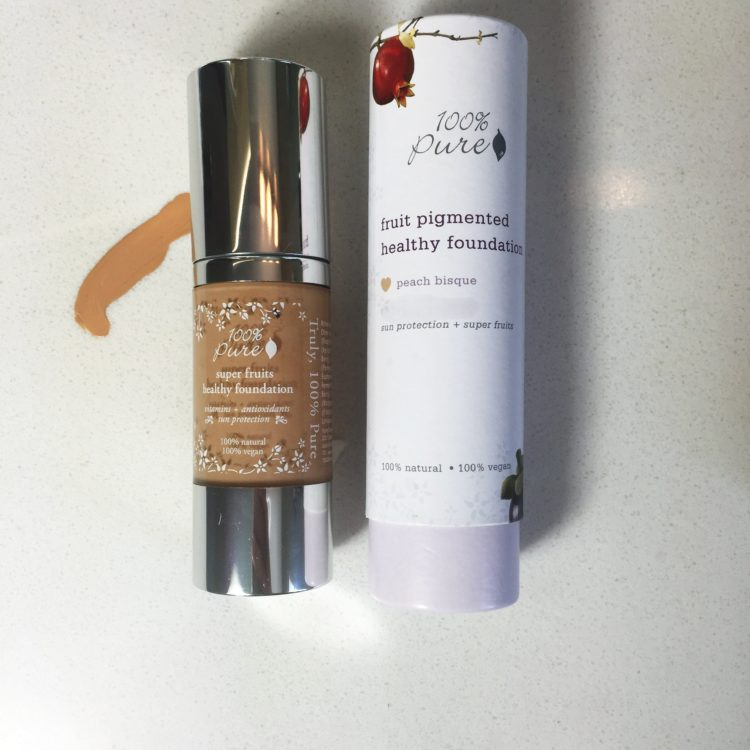 The Full Coverage Foundation That Lasts & A Coupon Code for 100% Pure