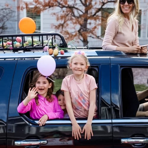 Celebrating Easter 2020 in Quarantine with a Car Parade