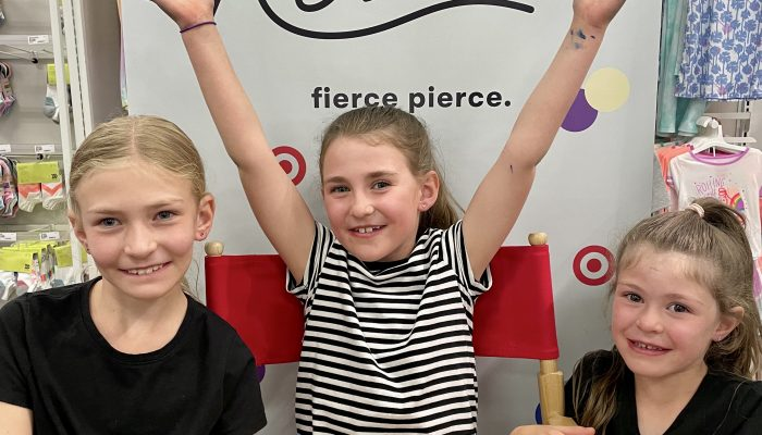 The Best Place to Get Your Kid's Ears Pierced: Hey Rowan Ear Piercing at Target